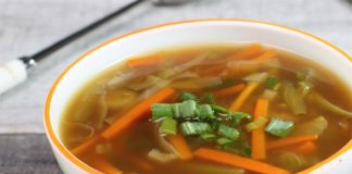 Soupe chinoise au Thermomix