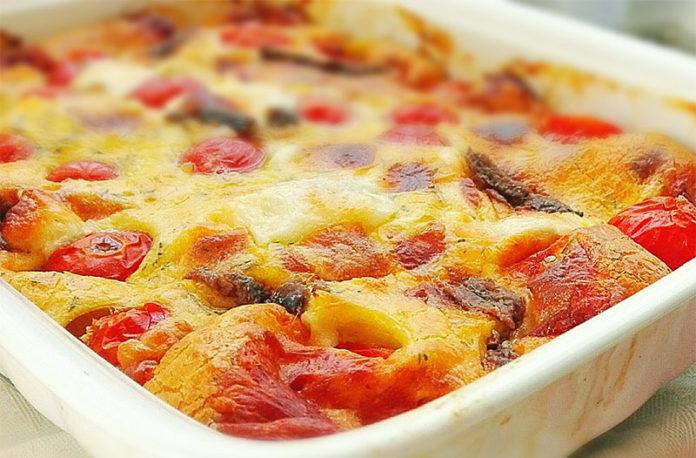 Flan de tomate et jambon avec Thermomix