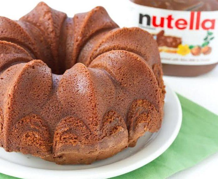 Gâteau au Nutella avec Thermomix