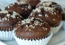 Muffins chocolat à la noix de coco