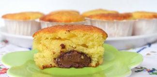 Muffins au Yaourt et Nutella