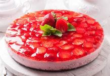 Bavarois aux fraises et spéculoos