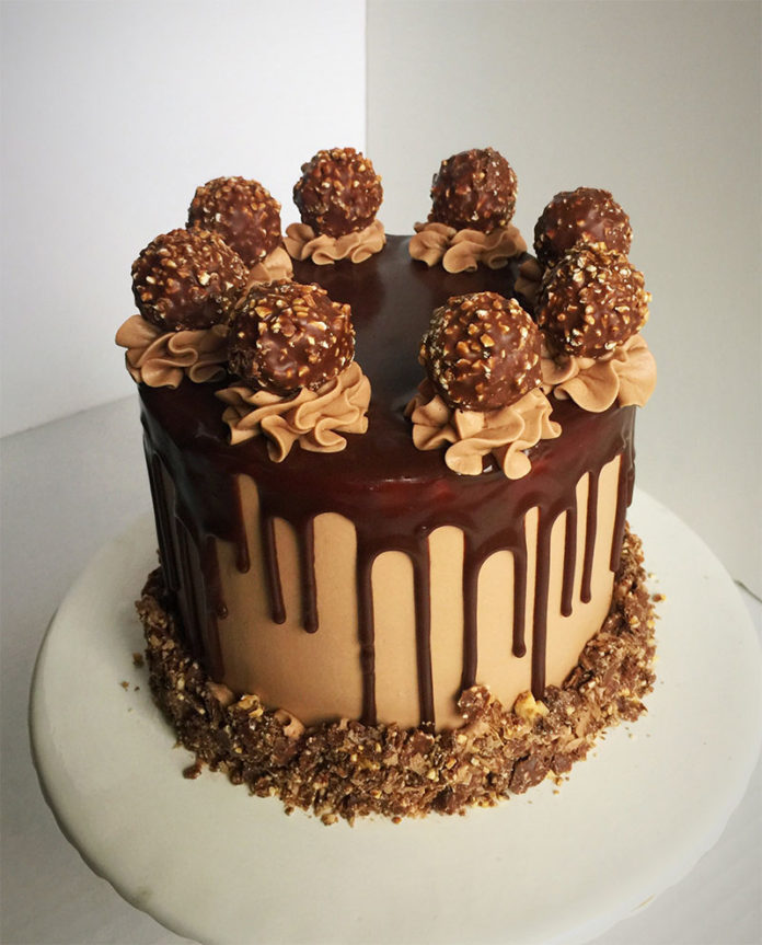 Layer Cake au Ferrero Rocher