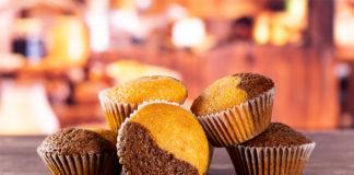 Muffins marbrés sans gluten