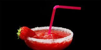 Cocktail Daïquiri aux fraises