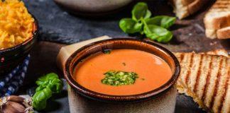 Velouté de tomates à l'italienne