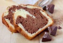 Cake marbré au Toblerone