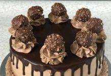 Gâteau au Ferrero Rochers