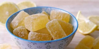 Pâte de Fruits au Citron