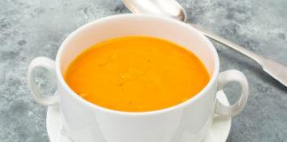 Potage aux carottes et pomme de terre
