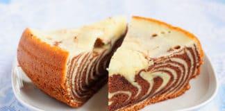 Gâteau Marbré à la Ricotta