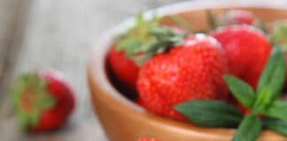 Danonino aux fraises