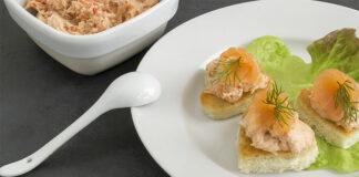 Pâté de saumon