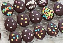 Sablés au chocolat pour pâques