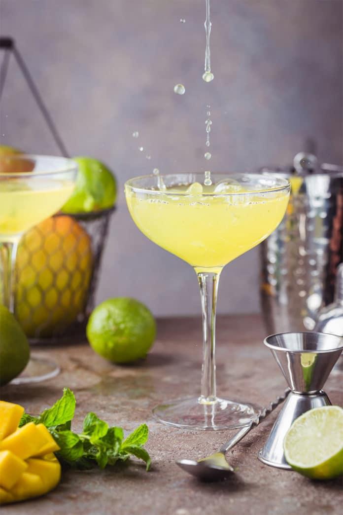 Cocktail Daiquiri aux fruits