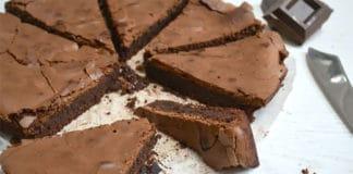 Gâteau au chocolat croquant et fondant