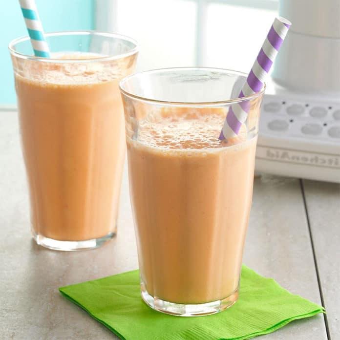Milk-shake aux carottes