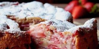 Gâteau Invisible aux Fraises