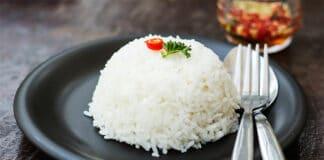 Riz cuit au Varoma