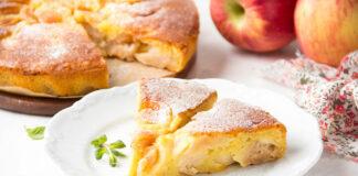 Gâteau aux pommes, poires et mascarpone